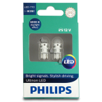 11961ULWX2 Philips LED 6000K W5W 12V (2шт. в компл.)