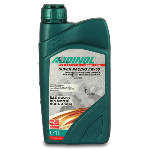 Addinol Super Racing 5W-50 1 л.