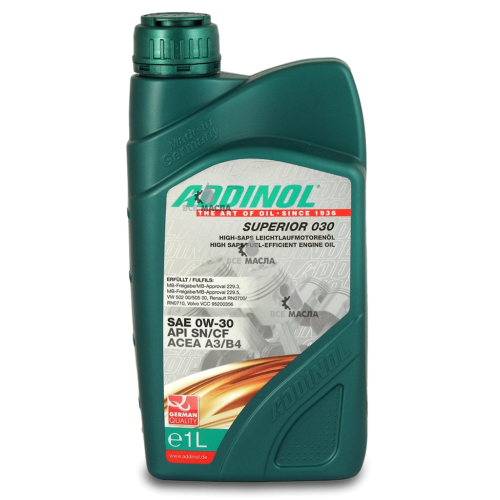 Addinol Superior 030 0W-30 1 л.