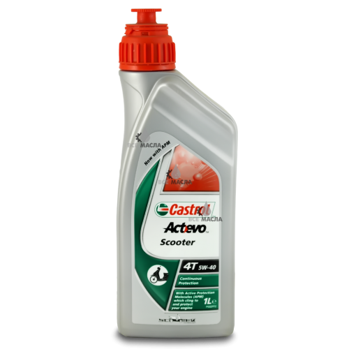 Castrol Act>Evo Scooter 4T 5W-40 1 л.