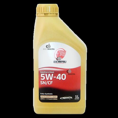 Idemitsu F-S SN/CF 5W-40 1 л.