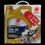 Idemitsu F-S SN/GF-5 5W-30  4л.+1л.