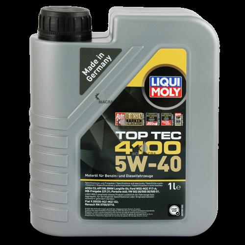 Liqui Moly Top Tec 4100 5W-40 1 л.