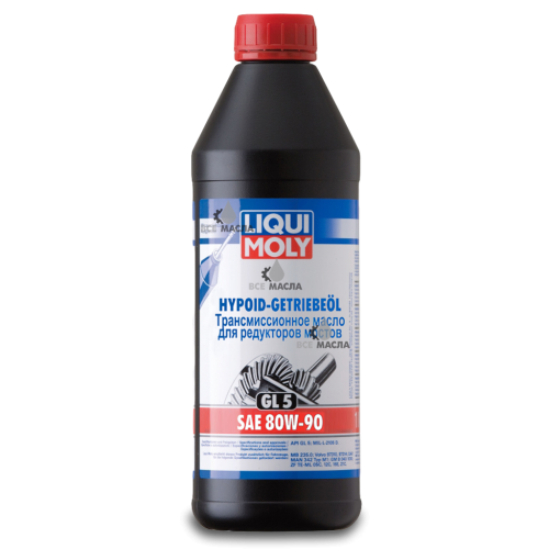 Liqui Moly Hypoid-Getriebeoil 80W-90 1 л.
