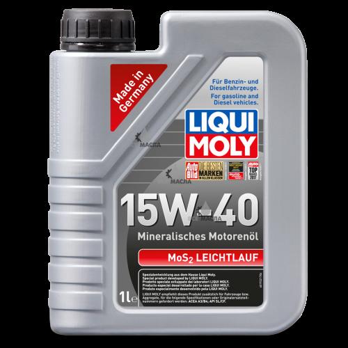 Liqui Moly MoS2 Leichtlauf 15W-40 1 л.
