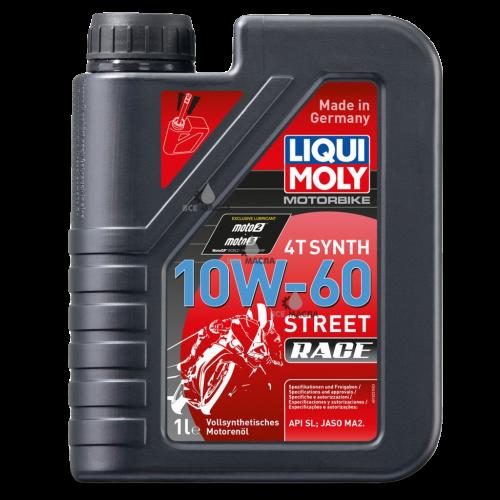 Liqui Moly Motorbike 4T Synth Street Race 10W-60 1 л.