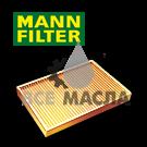 Фильтр салона MANN-FILTER CU2043