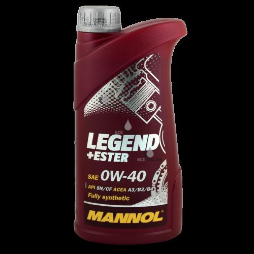 Mannol Legend+Ester 0W-40 1 л.