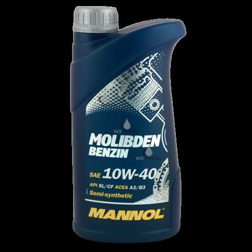 Mannol Molibden Benzin 10W-40 1 л.