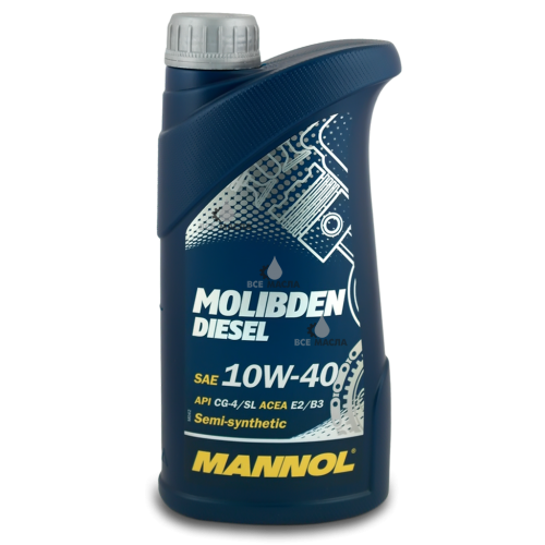 Mannol Molibden Diesel 10W-40 1 л.