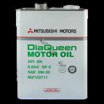Mitsubishi DiaQueen Motor Oil SN/GF5 0W-20 4 л.