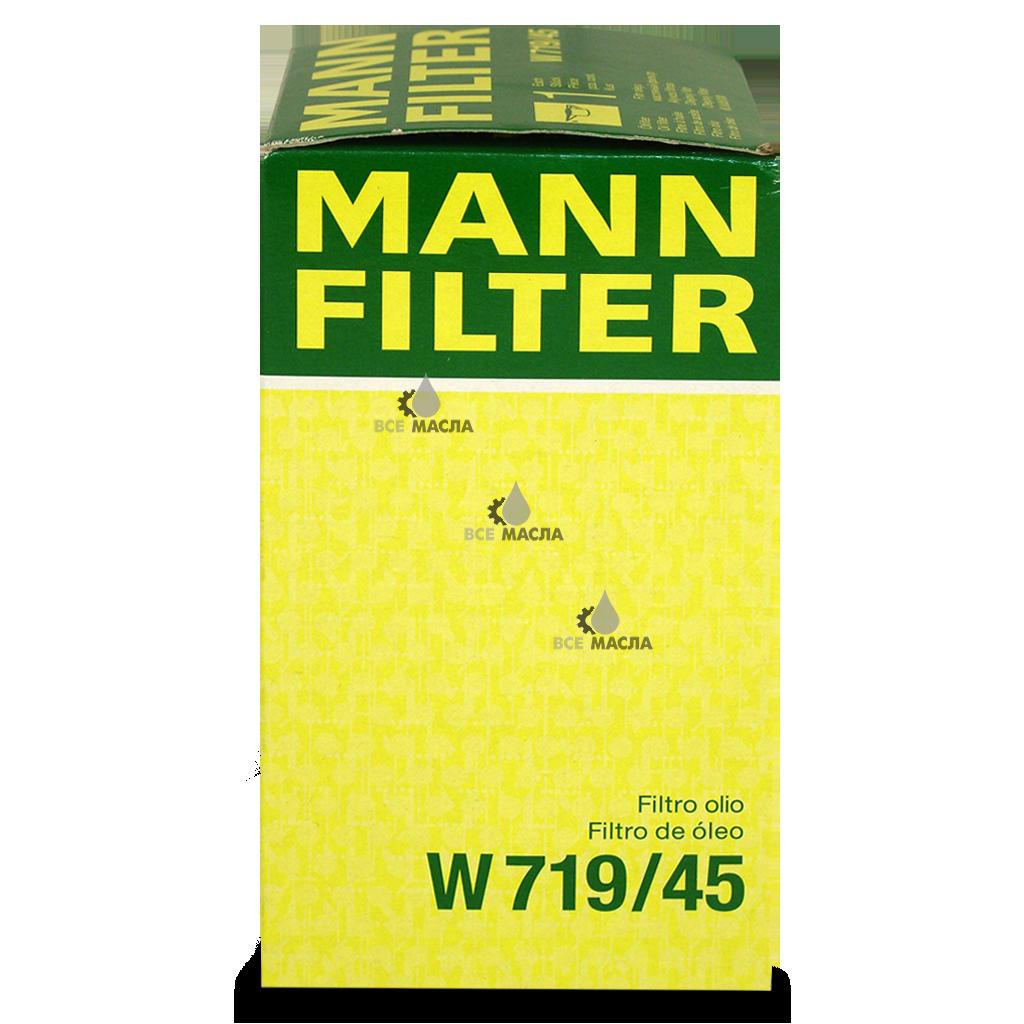 Фильтр масляный MANN-FILTER W719/45