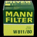 Фильтр масляный MANN-FILTER W811/80