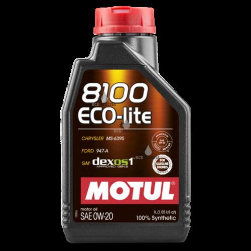 Motul 8100 Eco-lite 0W-20 1 л.