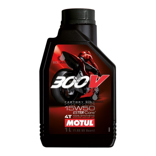 Motul 300V 4T Factory Line Road Racing 15W-50 1 л.