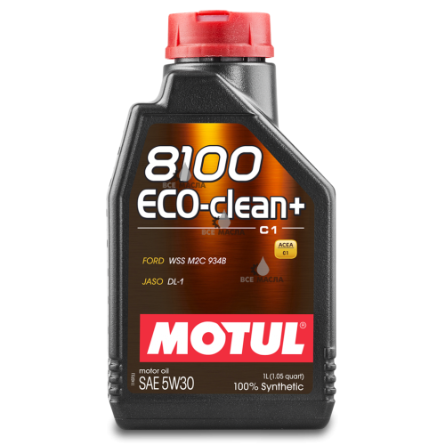 Motul 8100 Eco-clean+ С1 5W-30 1 л.