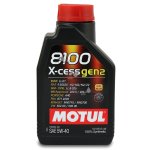 Motul 8100 X-cess gen2 5W40 1 л.