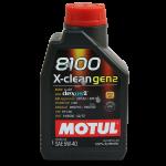Motul 8100 X-clean gen2 C3 5W-40 1 л.