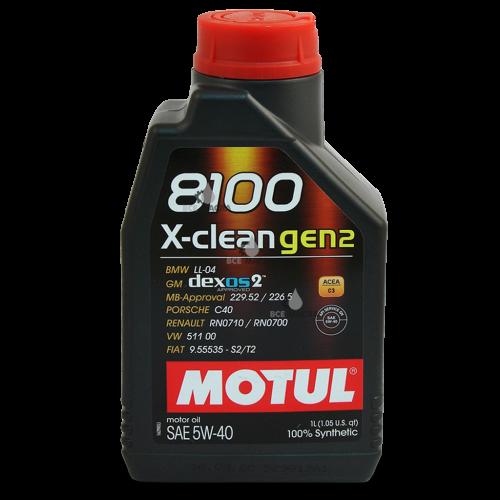 Motul 8100 X-clean gen2 5W-40 1 л.