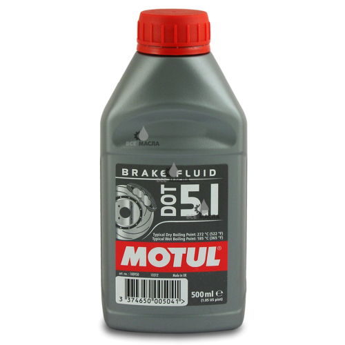 Motul DOT 5.1 Brake Fluid 0,5 л.