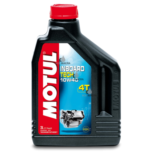 Motul Inboard Tech 4T 10W-40 2 л.