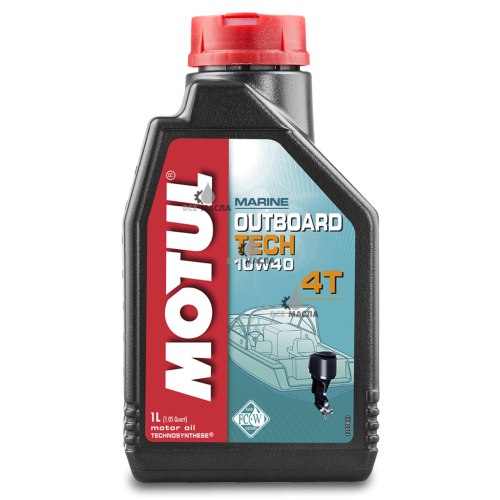 Motul Outboard Tech 4T 10W-40 1 л.