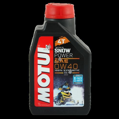 Motul SnowPower 4T 0W-40 1 л.