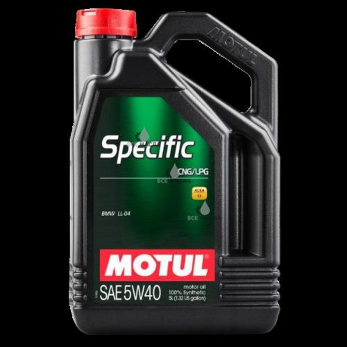 Motul Specific CNG/LPG 5W-40 5 л.