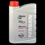 Nissan Motor Oil 5W-40 A3/B4 1 л.