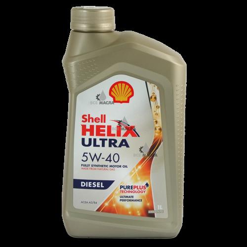 Shell Helix Ultra Diesel 5W-40 1 л.