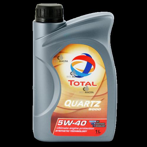 Total Quartz 9000 5W-40 1 л.