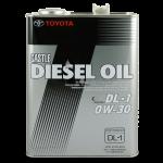 Toyota Castle Diesel Oil DL-1 0W-30 4 л.