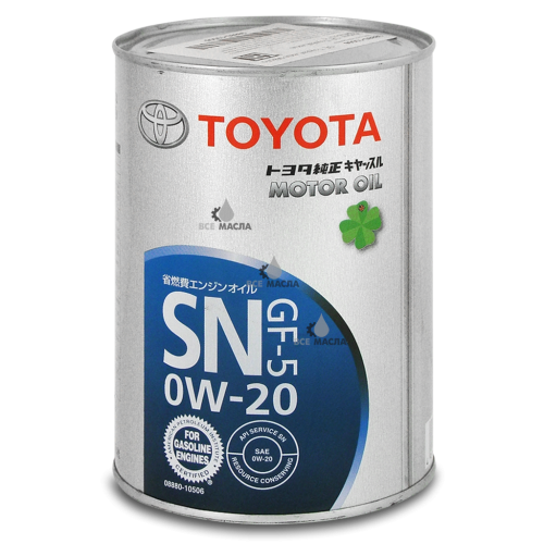 Toyota SN/GF-5 0W-20 1 л.