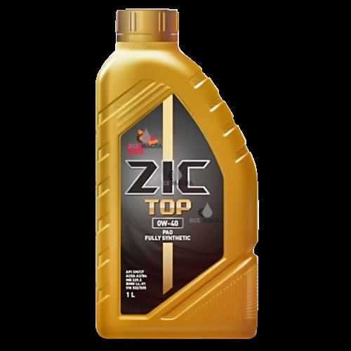 ZIC TOP 0W-40 1 л.