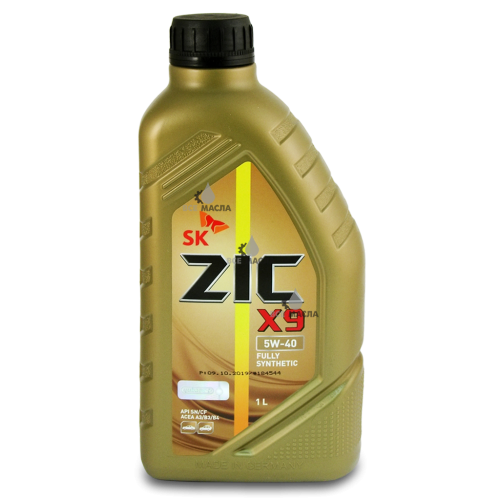 ZIC X9 5W-40 1 л.